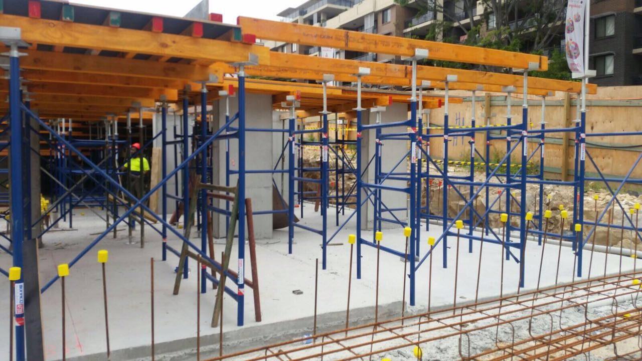 Pole Shoring Jacks : Heavy duty formwork frames monaco scaffold