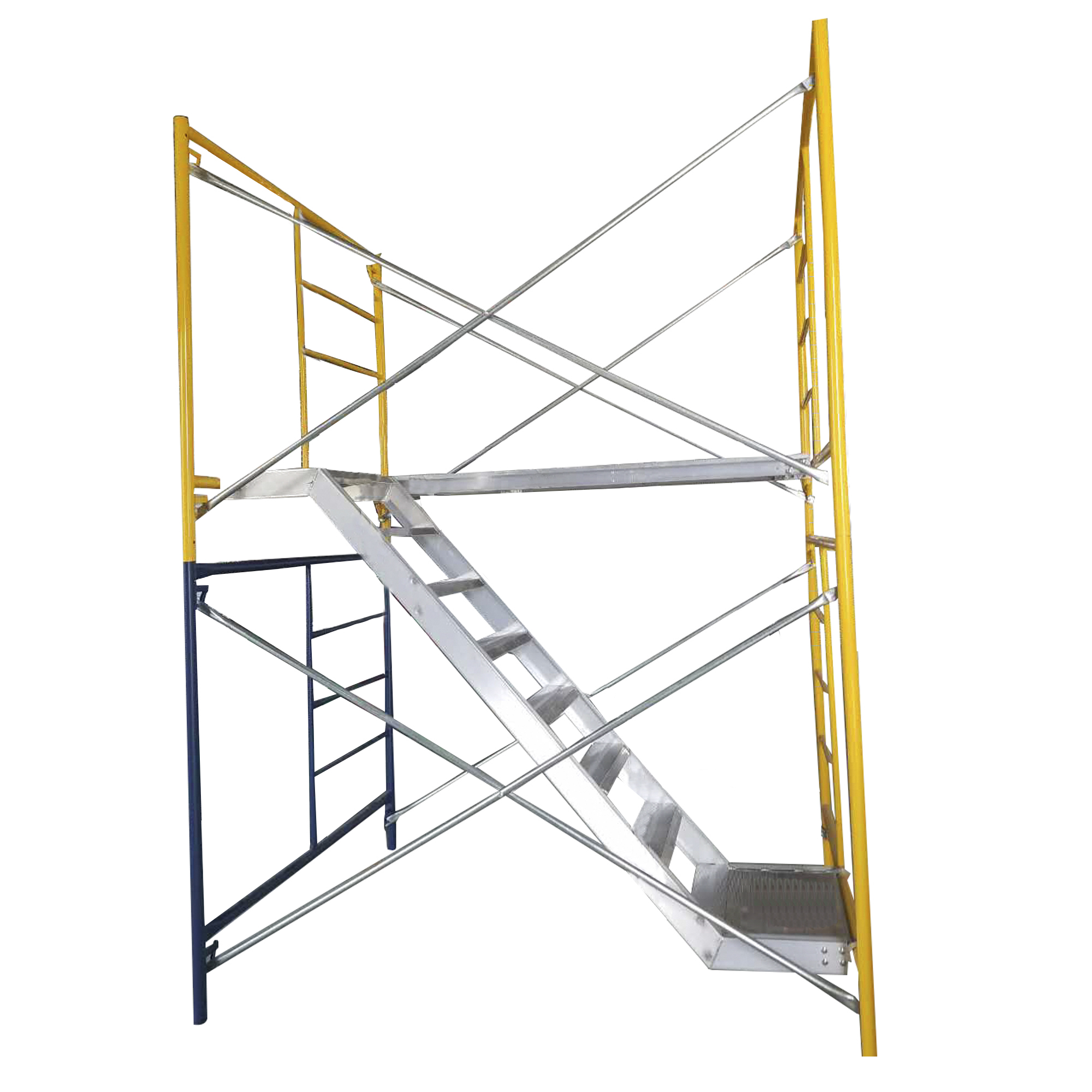 Staircase Tower Support : Aluminum tower stair for frames monaco scaffold